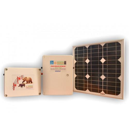 Güneş Enerjili Ayı Savar - Elektro Şok
