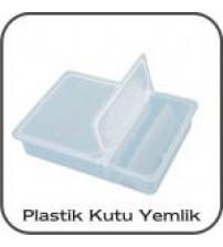Şeffaf Plastik Kutu Yemlik